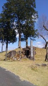 熊野神社古墳 石室内の石が見所